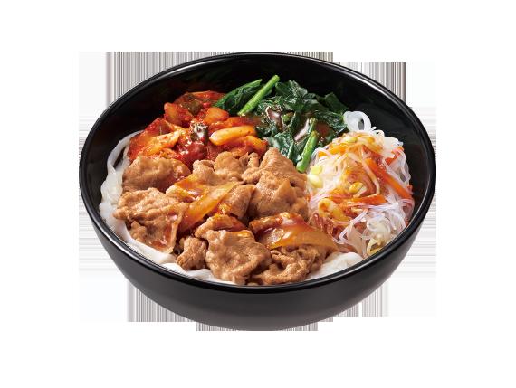 すき家 ロカボ牛ビビン麺