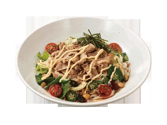 ロカボ牛肉サラダ麺