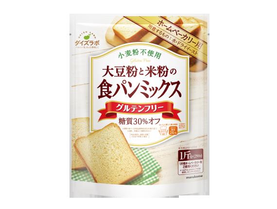 ダイズラボ 大豆粉のパンミックス