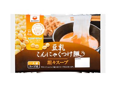 豆乳こんにゃくつけ麺(坦々スープ)