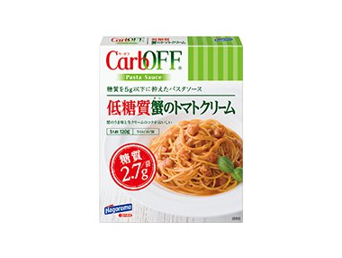 低糖質蟹のトマトクリームCarbOFF 120g