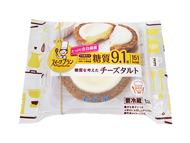 スイーツプラン 糖質を考えたチーズタルト
