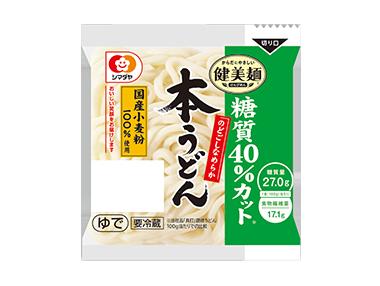 「健美麺」糖質40%カット本うどん1食