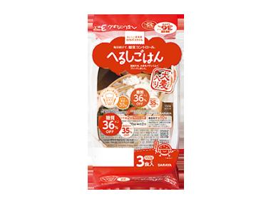 ロカボスタイル へるしごはん(炊飯パック) 150g×3