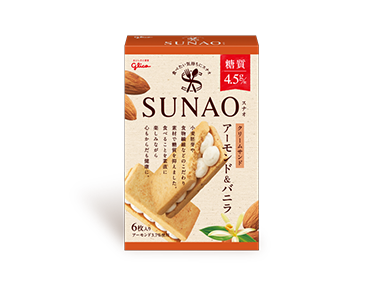 SUNAO <クリームサンド>アーモンド&バニラ