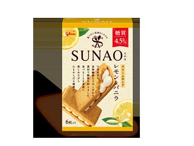 SUNAO <クリームサンド>レモン&バニラ